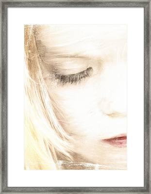 Tender Framed Print by Chantal Scholten