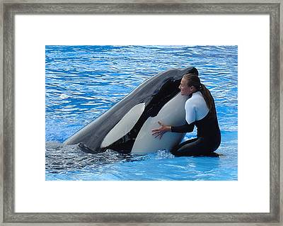 Framed Print featuring the photograph Tender by David Nicholls