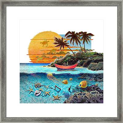 Tender Perch Framed Print