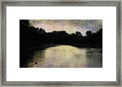 Tender Sundown Framed Print