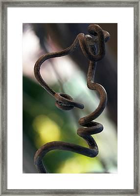 Tendrilisms Framed Print