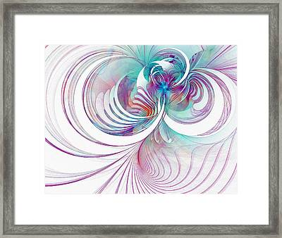 Tendrils 02 Framed Print by Amanda Moore