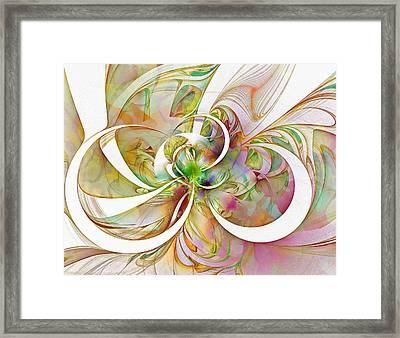 Tendrils 06 Framed Print by Amanda Moore