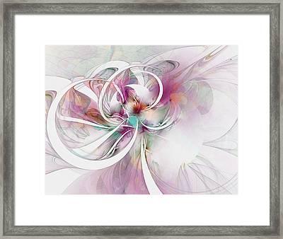 Tendrils 07 Framed Print by Amanda Moore