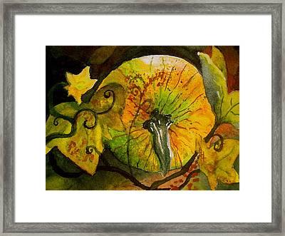 Tendrils Framed Print by Beverley Harper Tinsley