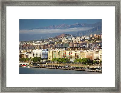 Tenerife Morning Framed Print by Brian Jannsen