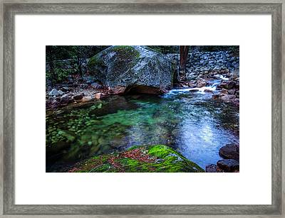 Teneya Creek Yosemite National Park Framed Print by Scott McGuire