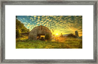 Tennesee Sunrise Framed Print by  Caleb McGinn