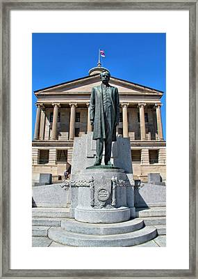 Tennessee Capitol Framed Print by Dan Sproul