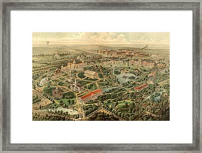 Tennessee Centennial Exposition, Nashville Framed Print by Litz Collection