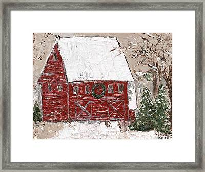 Tennessee Christmas Framed Print