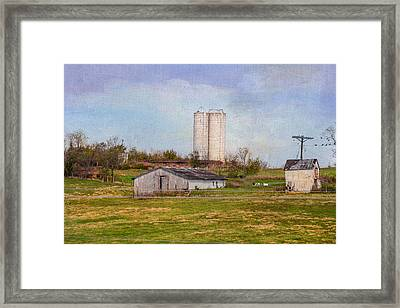 Tennessee Country Farm Framed Print by Mary Timman