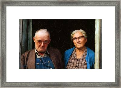 Tennessee Gothic Framed Print by Spyder Webb
