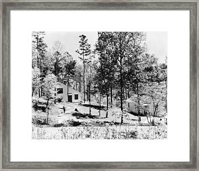 Tennessee Housing, C1935 Framed Print by Granger