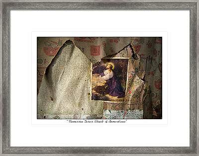 Tennessee Jesus Shack Five Generations Framed Print by James Neiss