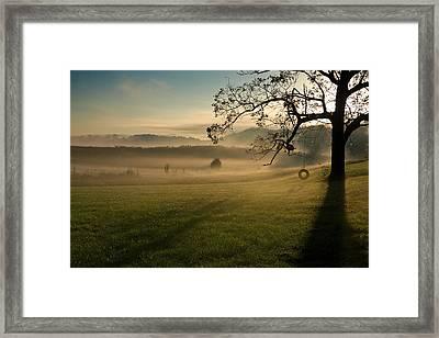 Tennessee Landscape Framed Print