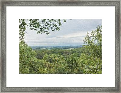 Tennessee Mountains Framed Print