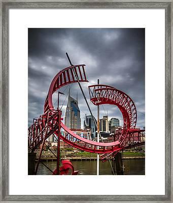Tennessee - Nashville Through Sculpture Framed Print