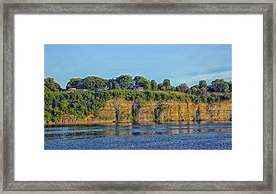 Tennessee River Cliffs Framed Print by Mountain Dreams