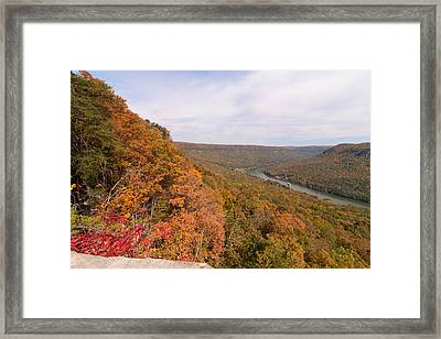 Framed Print featuring the photograph Tennessee Riverboat Fall by Paul Rebmann
