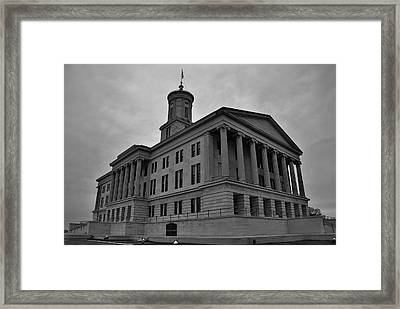 Tennessee State Capitol Building Framed Print by Steven Richman