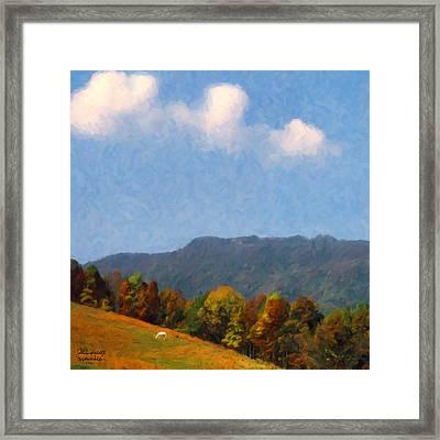 Tennessee Stud Framed Print