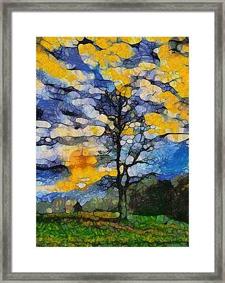 Tennessee Sunrise Framed Print by Dan Sproul