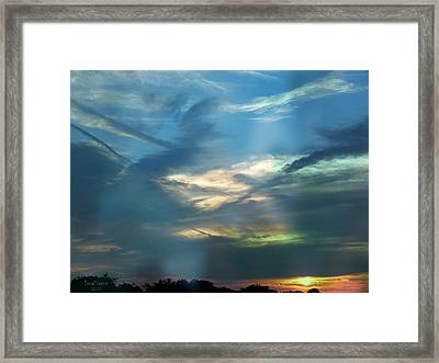 Tennessee Sunset Framed Print by EricaMaxine  Price