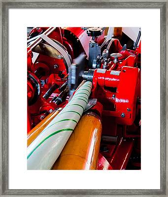 Tennessee Taffy Framed Print by Robert L Jackson
