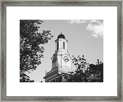 Tennessee Tech University Derryberry Hall Framed Print by University Icons