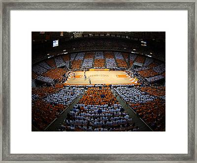 Tennessee Volunteers Thompson-boling Arena Framed Print