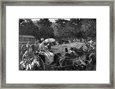 Tennis, 1886 Framed Print by Granger