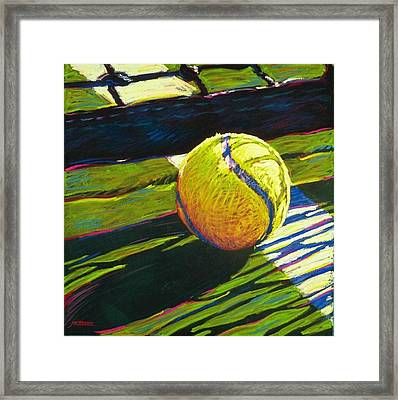 Tennis I Framed Print by Jim Grady