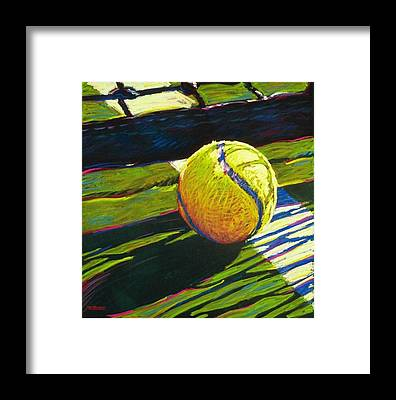 Tennis Framed Prints