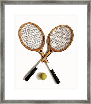 Tennis Sports Framed Print