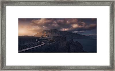 Tenoa?s Lighthouse Framed Print