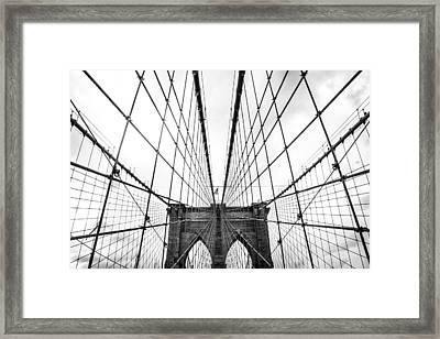Tensile Framed Print by Takeshi Okada