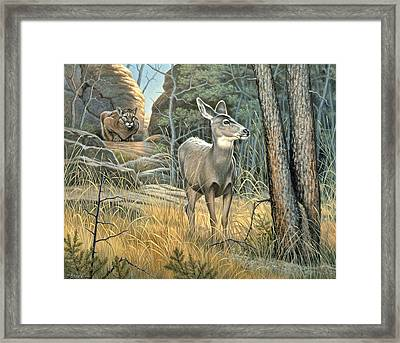 Tension Framed Print by Paul Krapf