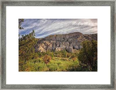 Tent Rocks National Monument 3 - Santa Fe New Mexico Framed Print