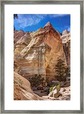 Tent Rocks No. 2 Framed Print by Dave Garner