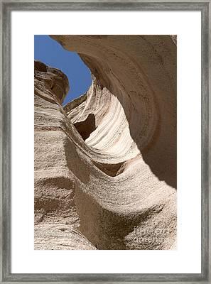 Tent Rocks Framed Print