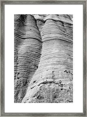 Tent Rocks Wall Framed Print by Steven Ralser