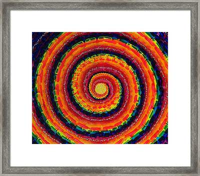 Tentacle Framed Print by Patrick OLeary