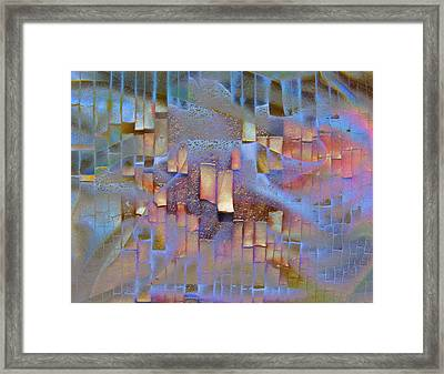 Tenuous Connections Framed Print by Barbara  White