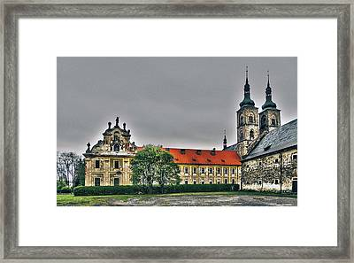 Tepla Monastery - Czech Republic Framed Print by Juergen Weiss