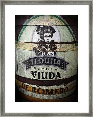 Tequila Advert Framed Print