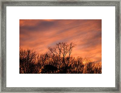 Framed Print featuring the photograph Tequila Sunset by Bill Swartwout