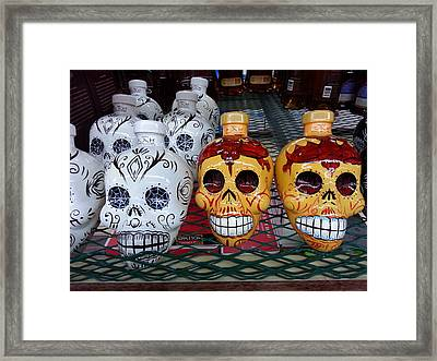 Tequila To Die For Framed Print by ARTography by Pamela Smale Williams