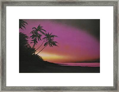 Tequilasunrise Framed Print by DC Decker