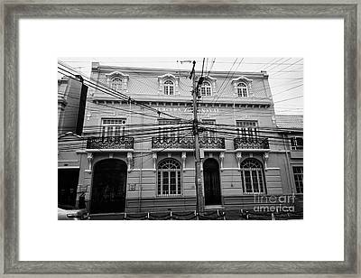 tercera zona naval Punta Arenas Chile Framed Print by Joe Fox
